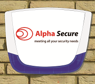 Alpha Secure burglar alarm sounder box